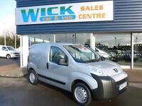 2013 Peugeot BIPPER HDI S Van *SILVER LOW MILES* Manual Small Van