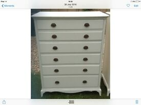 Chest of drawers Ivory / cream