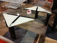 Modern ,coffee table 10mm tempered glass,new