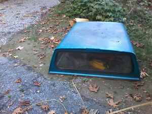 2006 blue green windows canopy for truck