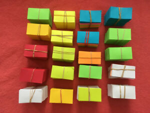 Colorful origami folding paper for Crafts/DIY Hobby change want