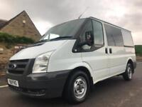 2011 FORD TRANSIT 2.2 TDCI 280S LOW ROOF DOUBLE IN VAN CAB DURATORQ