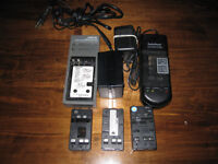 Camcorder Batteries and Chargers