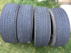 4 Michelin LTX M/S - 265/70/18 - 40-50% - $30 For All 4 Tires