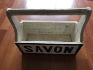 Super chic & trendy tool box/organizer/plant holder, be creative