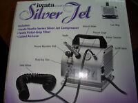 Silver jet sprayer