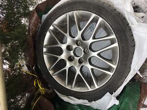 Lexus summer tires and rims