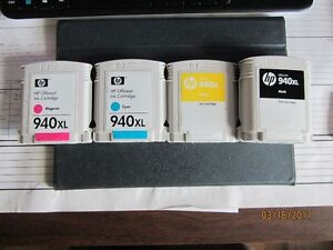 Like new HP ink cartridges