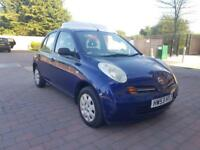 *Low Mileage* 2004 Nissan Micra 1.2 Automatic 5 Doors