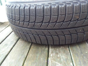 4 15' Michelin winter tires new last year for only $500 Inc rims