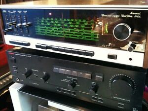 Vintage SANSUI Receiver with a Turntable & Paradigm Speakers London Ontario image 1