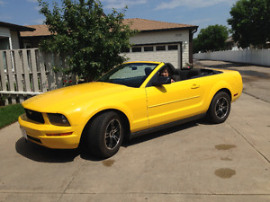 2005 Ford Mustang Coupe (2 door) CONVERTIBLE