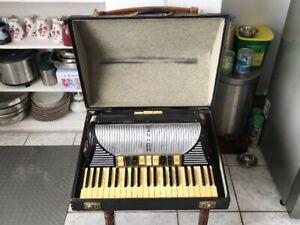 Vintage Hohner piano accordion