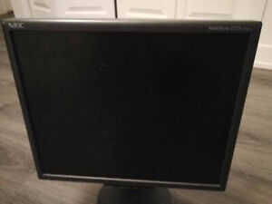 """Used monitor:  The 17"""" NEC MultiSync LCD1770NX"""