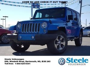 2016 JEEP WRANGLER Sahara Unlimited - One owner, Trade-in, Low M