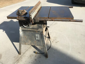 Table Saw and more including band saw and planer