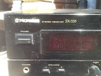 PIONEER STERIO RECIVER Amplifier SX -335