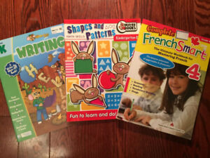 3 workbooks for young children