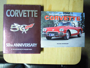 Corvette 50th Anniversary Book & More Stratford Kitchener Area image 1