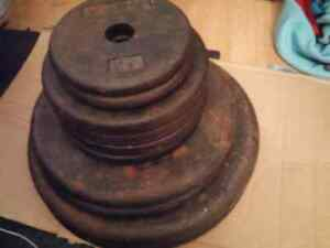 FS: Weight Plates (200 lbs)
