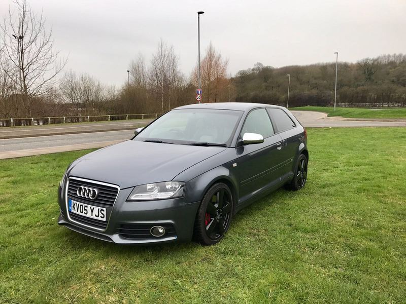 audi a3 3 2 v6 quattro sport grey 2005 in leicester. Black Bedroom Furniture Sets. Home Design Ideas