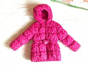 Joe Fresh size 2t girls winter jacket
