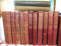 Antique Leather Books Everyman's Library