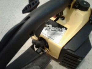16 McCulloch chainsaw.Pro Mac 165(The Professional)