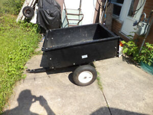 Lawn and Garden Tractor/ATV Trailer In Good Working Condition