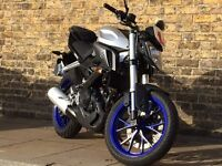 Yamaha mt 125 with ABS