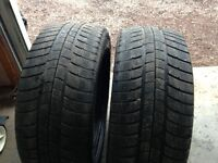 Pair of Michelin 235/45/17 Tires