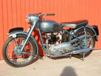 TRIUMPH 6T THUNDERBIRD 1950 649cc MATCHING NUMBERS MOT'd JANUARY 2019