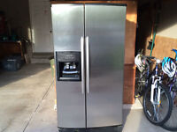 KitchenAid Stainless Steel Refrigerator with Ice and Water