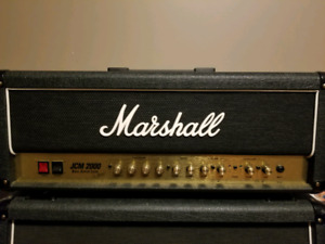 Marshall DSL 50 and 4x12 1960a Cabinet