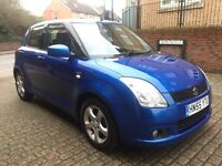 Suzuki Swift 1.5 VVTS GLX (blue) 2005