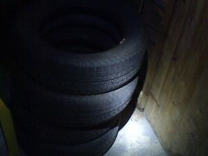 185/65/15. Set of 4 Michelin x-ice snow tires & 4 all seasons.