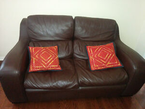Couch set , Loveseat , sofa , chair , leather set , table