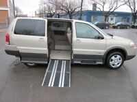 WHEELCHAIR VAN PONTIAC MONTANA 2009 MINT 69,500 KM's