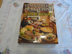L ' encyclopedie de la cuisine de Jéhane Benoit