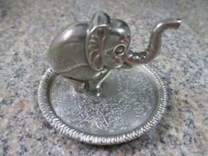 Vintage Ring Holder / Porte-bague Silver Plated / Plaqué Argent