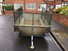 Caged trailer 8x4 base unbraked - new price