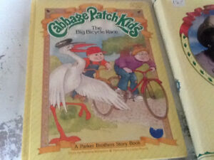 Vintage cabbage patch books for sale