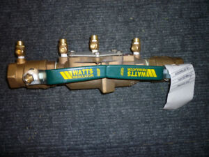 "Watts 1-1/2"" Double Check Valve Assembly"