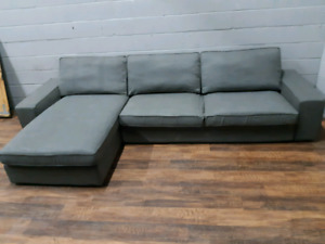 Free delivery: Grey Ikea Kivik Sectional​