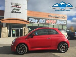 2015 Fiat 500 Sport  ACCIDENT FREE, WARRANTY, CERTIFIED/ETESTED