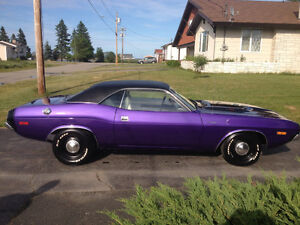 1974 DODGE CHALLENGER RALLY 340 AUTOMATIC