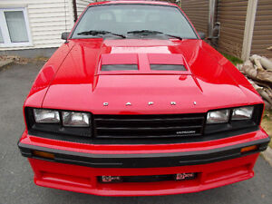 1984 Mercury Capri RS 5.0 Liter With T Tops