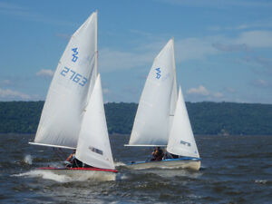 Learn to sail at Emma Lake during the first week in July