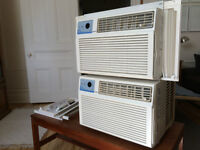 2 climatiseurs FOREST AIR 8200 BTU / FOREST AIR air conditioners