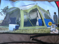 Ventura 6 Man 2 Room Cabin Camping Tent For Sale